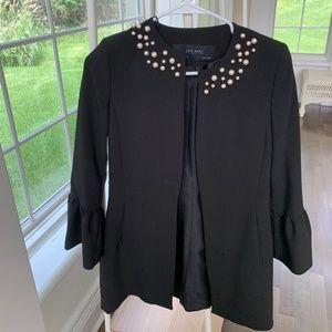 Zara Pearl detailed black jacket